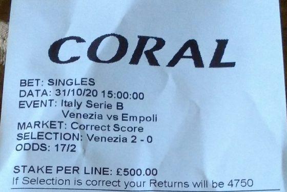 Venezia – Empoli