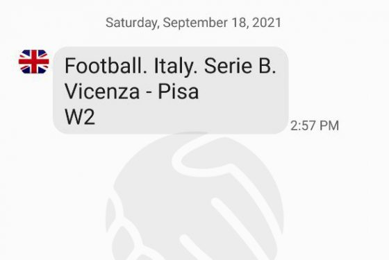 Vicenza – Pisa